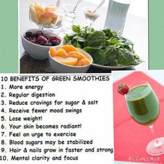 10 Benefits of Green Smoothies