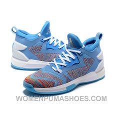dac22651022c Adidas Damian Lillard 2 Adidas Blue White Basketball Shoes Authentic WhxDp