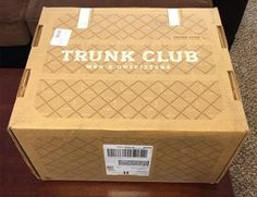 First Box from Trunk Club