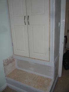 Wardrobe Built Over Stairwell Bulkhead Boxroom