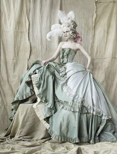 ♥ Romance of the Maiden ♥ couture gowns worthy of a fairytale - Rococo Style