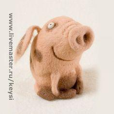 Toy animals, handmade. Fair Masters - Hand made money. Handmade.