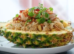 Pineapple Fried Rice at Pakpao Thai from Famous Chefs' Signature Dishes   E! Online