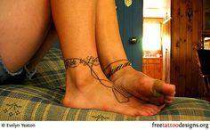 Script Tattoo Idea for Woman