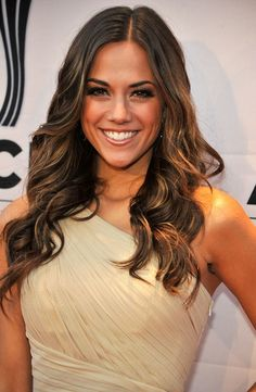 love her hair! Especially the color Jana Kramer Thompson Boling Arena, Knoxville ,TN with Blake Shelton! Jana Kramer, Love Hair, Gorgeous Hair, Pretty Hair, Portraits, Dream Hair, Cut And Color, Hair Dos, Pretty People