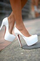 Christian Louboutin.....If only I could wear these without hurting myself.... #RedDoorSpa #HeelsOverHeart