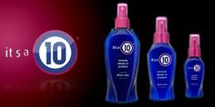 This stuff is amazing. It does all 10 things it says it will! It is a must for my daily hair care. Love love love Miracle 10!