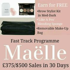 Fast start programme in place  To join  Www.maellebeauty.com/store/MichelleMurphy