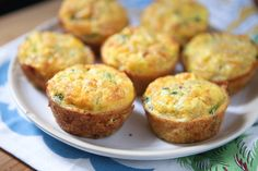 Broccoli Cheese Frittata Muffins with Quinoa make the perfect snack or breakfast on the go for your family.