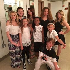 Almost showtime!  #MattyBLive #HaschakSisters #CarrissaAdeeXO #BrookeAdee…