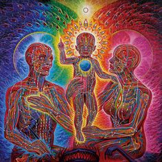 """""""When you do things from your soul, you feel a river moving in you, a joy."""" Mawlānā Jalālad-Dīn Rumi Art by Alex Grey"""