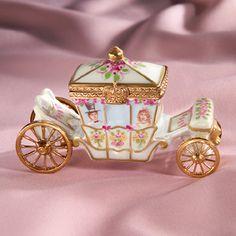 Limoges Royal Wedding Carriage Box