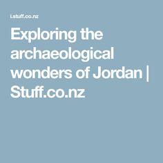 Exploring the archaeological wonders of Jordan   Stuff.co.nz
