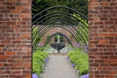 Bangor Castle Walled Garden.The award-winning Bangor Castle Walled Garden,Bangor, County Down, Northern Ireland, located in the tranquil grounds of Castle Park, offers 2.5 acres of prestige horticulture and is popular with visitors of all ages.
