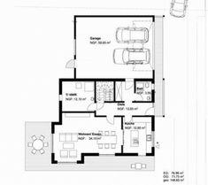 Einfamilienhaus ringelfeld von becker 360 Floor Plans, Home, Garage Floor Plans, Mediterranean Style, Gable Roof, Log Home, House Construction Plan, Detached House, Interior Designing