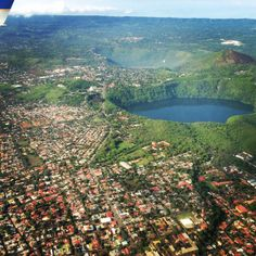 Managua from above