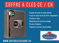 Coffres-forts CE / CK disponibles pour 56 ou 136 clés. #COFFREFORT #GENEVE #SECURITE #CAMBRIOLAGE #VOL