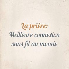Citation La Prière
