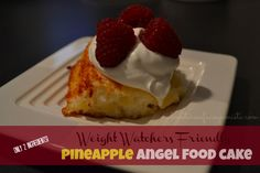Blog post at Adventures of a Couponista :   Today, I made the most amazingly delicious and surprisingly simple dessert – Pineapple Angel Food Cake!! It's Weight Watchers friend[..]