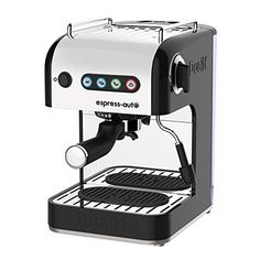 Dualit 4 in 1 Espress-auto Coffee & Tea Machine | 1.5L Capacity | Stainless Steel & Aluminium Body | Multi-Brew… MULTI-BREW VERSATILITY: Dualit's 4 in 1... Coffee And Espresso Maker, Espresso Machine, Coffee Maker, Cappuccino Maker, Coffee Brewer, Coffee Pods, Coffee Beans, Tea Coffee Machine, Luxembourg