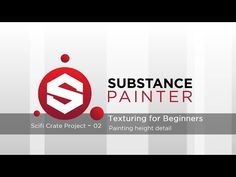 Substance Painter Tutorial – Scifi Crate Project 02: Painting height details - YouTube