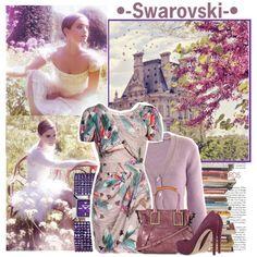 -Swarovski- by beth-vee on Polyvore featuring мода, Matthew Williamson, Heartbreaker, Pour La Victoire, Swarovski, Chloé and Emma Watson