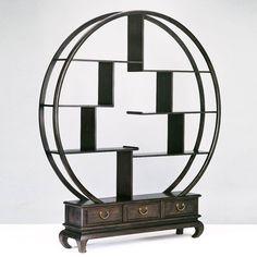 Vietnamese circular shelf... zen!