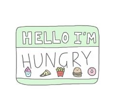 """""""Dad I'm hungry!"""" """"Hello hungry I'm dad."""""""