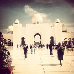 Sheikh Zayed Grand Mosque مسجد الشيخ زايد in أبوظبي, أبوظبي