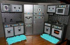 kitchen decor for monster high