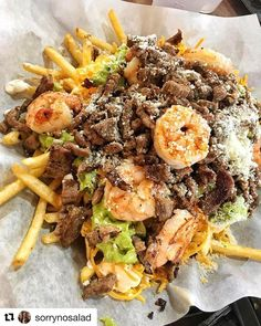 7 Places To Get Wildly Tasty Carne Asada Fries In San Diego  I think this may be the Mexican food for me!