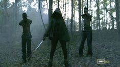 Michonne! Most epic intro ever!!  Can't wait for Season 3 of The Walking Dead!!