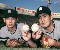 Baseball Players, Baseball Cards, Hanshin Tigers, Baseball Pictures, Showa Period, Sports, Photography, Hs Sports, Photograph