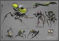 Brainpunk Aliens by CaconymDesign