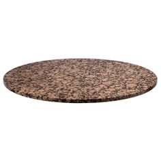 absolute black granite table top shown in 36 diameter size our rh pinterest com