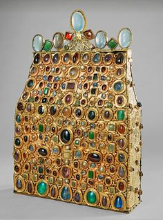 St. Stephen's Purse, 800 AD - 830 AD / maker unknown | Kaiserliche Schatzkammer Wien (Treasury)