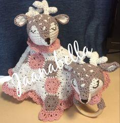 Porohelistin ja -uniriepu/ reindeer rattle and securityblanket Reindeer, Teddy Bear, Toys, Handmade, Animals, Activity Toys, Hand Made, Animales, Animaux