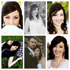 Bridal/engagement hair and makeup. #greybuttonproductions