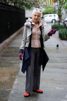 older women street style - Google Search
