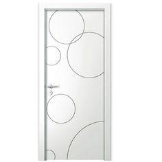MSPD16: Modern Matte Lacquer Interior Flat Door