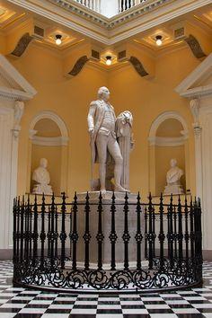 Statue of George Washington, Virginia State Capitol, Richmond