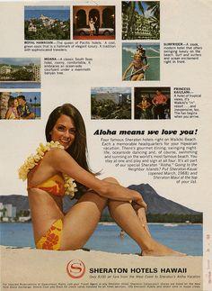 Sheraton Hotel Ad (1968)