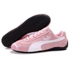 Puma Suede Women Pink/White