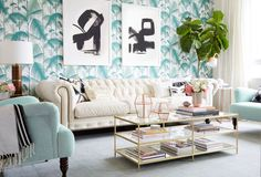 LA Home Makeover - Fashion Blogger Spaces