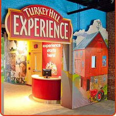 Entrance to the Turkey Hill Experience  Ice Cream tour