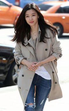 Jun ji hyun airport style