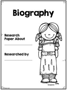 Biography Research Informative Writing Famous Americans