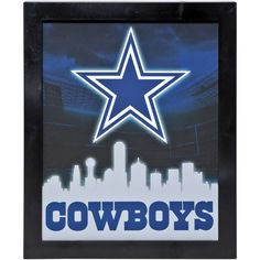 Dallas Cowboys Sign Light Up Wall Style 49c1c30ad