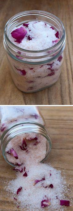 Magnesium Rose Bath Salts DIY Bath Salts