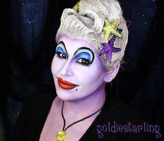 by Goldiestarling.  Ursula #disney #villain